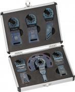KWB Universal-Set Multi-Tool-Set für Holz-, Kunststoff- und Metallarbeiten im Alu-Koffer (7 Stück)
