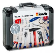 KWB Werkzeugkoffer 51-teilig