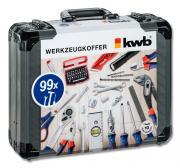 KWB Werkzeugkoffer aus Aluminium, 99-teilig
