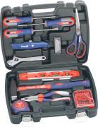 KWB Werkzeugkoffer Grundausstattung 40-teilig in praktischem Kunststoffkoffer