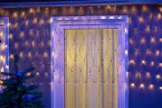 LED Lichternetz 160 Leuchten grün 220x110cm Außenbereich Lichterkette