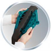 Leifheit Ersatzschaumstoff Soft&Easy für Leifheit Schaumstoffbesen Schwammbreite 34 cm