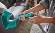 Leifheit Wand und Deckenbesen Dusty Handgerät mit Easy-Click-System