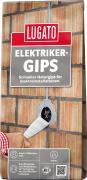 Lugato Elektrikergips Montagegips Für Steckdosen & elektrische Leitungen Weiß 5 kg