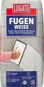 Lugato Fugenweiss Fugenmörtel bis 5 mm Fugenbreite Weiß 20 kg