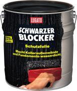 Lugato Schwarzer Blocker Schutzfolie Abdichtung Bitumenanstrich 10 l