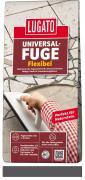 Lugato Universal-Fuge Flexibel Fugenmörtel 2-30 mm Innen & Außen Anthrazit 5 kg