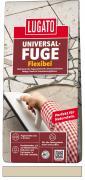 Lugato Universal-Fuge Flexibel Fugenmörtel 2-30 mm Innen & Außen Bahamabeige 5 kg