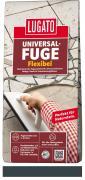 Lugato Universal-Fuge Flexibel Fugenmörtel 2-30 mm Innen & Außen Granitgrau 5 kg