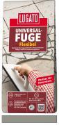 Lugato Universal-Fuge Flexibel Fugenmörtel 2-30 mm Innen & Außen Steingrau 5 kg
