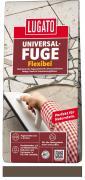 Lugato Universal-Fuge Flexibel Fugenmörtel 2-30 mm Innen & Außen Balibraun 5 kg