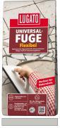 Lugato Universal-Fuge Flexibel Fugenmörtel 2-30 mm Innen & Außen Grau 5 kg