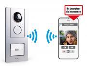 m-e iP WLAN Video Türsprechstation Außenstation VS-10 für Smartphone Android Apple IOS