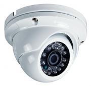 m-e Procamo Dome Kamera DC-S20A-W weiß mit Aluminiumgehäuse Überwachungskamera