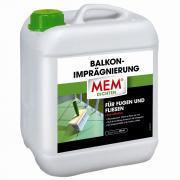 MEM Balkon-Imprägnierung für Fugen & Fliesen lösemittelfrei transparent 5 L