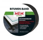 MEM Bitumen-Band, zum sicheren Abdichten und Verkleben schwarz 7,5 cm x 10 m