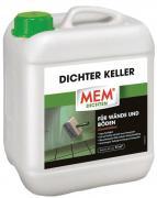MEM Dichter Keller Wand- und Bodenimprägnierung lösemittelfrei 5 L