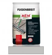 MEM Fugenbreit flexiblel kunststoffvergütetet wasserabweisend Fugenmörtel mittelgrau 5 kg
