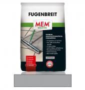 MEM Fugenbreit flexiblel kunststoffvergütetet wasserabweisend Fugenmörtel anthrazit 5 kg
