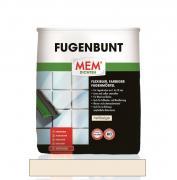 MEM Fugenbunt flexibler farbiger Fugenmörtel zur Verfugung von keramischen Belägen hellbeige 2 kg