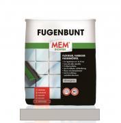 MEM Fugenbunt flexibler farbiger Fugenmörtel zur Verfugung von keramischen Belägen silbergrau 2 kg