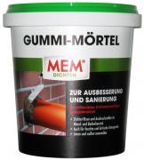 MEM Gummi-Mörtel hochflexibler 2-K Spezialmörtel zur Ausbesserung und Sanierung 1 kg