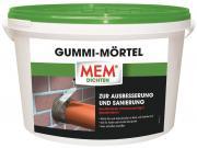 MEM Gummi-Mörtel hochflexibler 2-K Spezialmörtel zur Ausbesserung und Sanierung 5 kg
