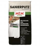 MEM Sanierputz Classic weiß 25 kg