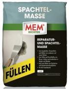 MEM Spachtelmasse Pulverspachtelmasse Füllen Weiß 5 kg hohe Füllkraft gipsbasiert
