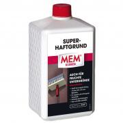 MEM Super-Haftgrund Haftvermittler für saugende & nichtsaugende & feuchte Untergründe lösemittelfrei 1 L