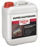 MEM Super-Haftgrund Haftvermittler für saugende & nichtsaugende & feuchte Untergründe lösemittelfrei 5 L