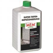 MEM Super-Tiefenimprägnierung Fassaden-Stein-Abdichtung Wassersperre lösemittelfrei 1 L