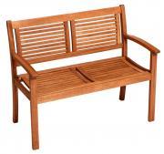 Merxx Gartenbank Cordoba 2-Sitzer, Eukalyptusholz