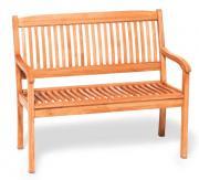 Merxx Gartenbank Maracaibo 2-Sitzer, Eukalyptusholz
