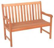 Merxx Gartenbank Santos 2-Sitzer, Eukalyptusholz