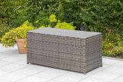 Merxx Kissenbox Gartenbox Aufbewahrungsbox 123 x 54 x 60 cm grau
