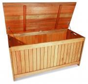 Merxx Kissenbox Standard eckig, 62 x 56 x 125 cm, Eukalyptusholz