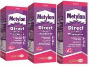 Metylan direct Tapetenkleister für Vliestapeten 3 für 2 (3 x 200 g)
