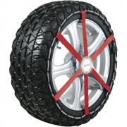 Michelin Schneekette Textilschneeketten Easy Grip K15 ABS und ESP kompatibel 2 Stück