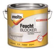 Molto Feucht Blocker 2,5 l Grundierung gegen Feuchtigkeit und Schimmel