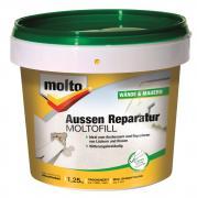 Molto Moltofill Außen Reparatur 1,25kg Ausbesserungen Füllen und Reparieren