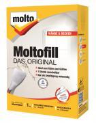 Molto Moltofill Das Original weiß 1kg Spachtelpulver für innen