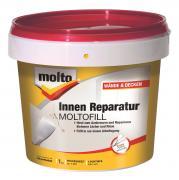 Molto Moltofill Innen Reparatur 1kg Ausbesserung Füllen und Reparieren