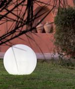 NewGarden Außenleuchte Buly Ø 50 cm Kugelleuchte Solar + Batterie IP65