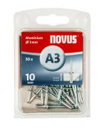 Novus Aluminium-Blindniete 3/10 30 Stück