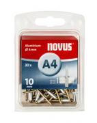 Novus Aluminium-Blindniete 4/10 30 Stück