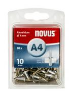 Novus Aluminium-Blindniete 4/10 70 Stück