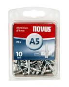 Novus Aluminium-Blindniete 5/10 70 Stück