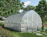 Palram Gewächshaus Greenhouse Bella 8 x 20 silber 601 x 244 x 219 cm (8,45 m²)