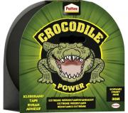 Pattex Crocodile Power Klebeband Schwarz 1 Rolle Gewebeband 30m x 48mm